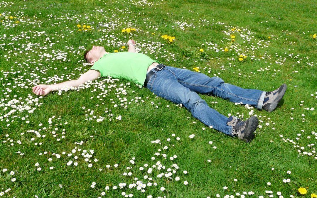 Working a bit too hard in the garden?